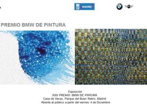 XXX edición del Premio BMW de pintura en el centro cultural Casa de Vacas
