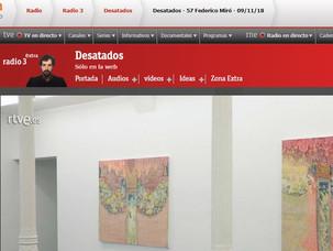 """Federico Miró en """"Desatados"""" de RTVE"""