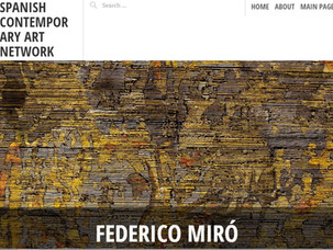Federico Miró en SCAN (spanish contemporany art network)