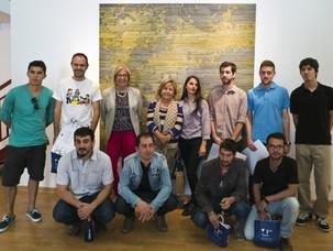 Federico Miró logra el VII Premio de Pintura Universidad de Málaga con su obra Una mirada ajena 2