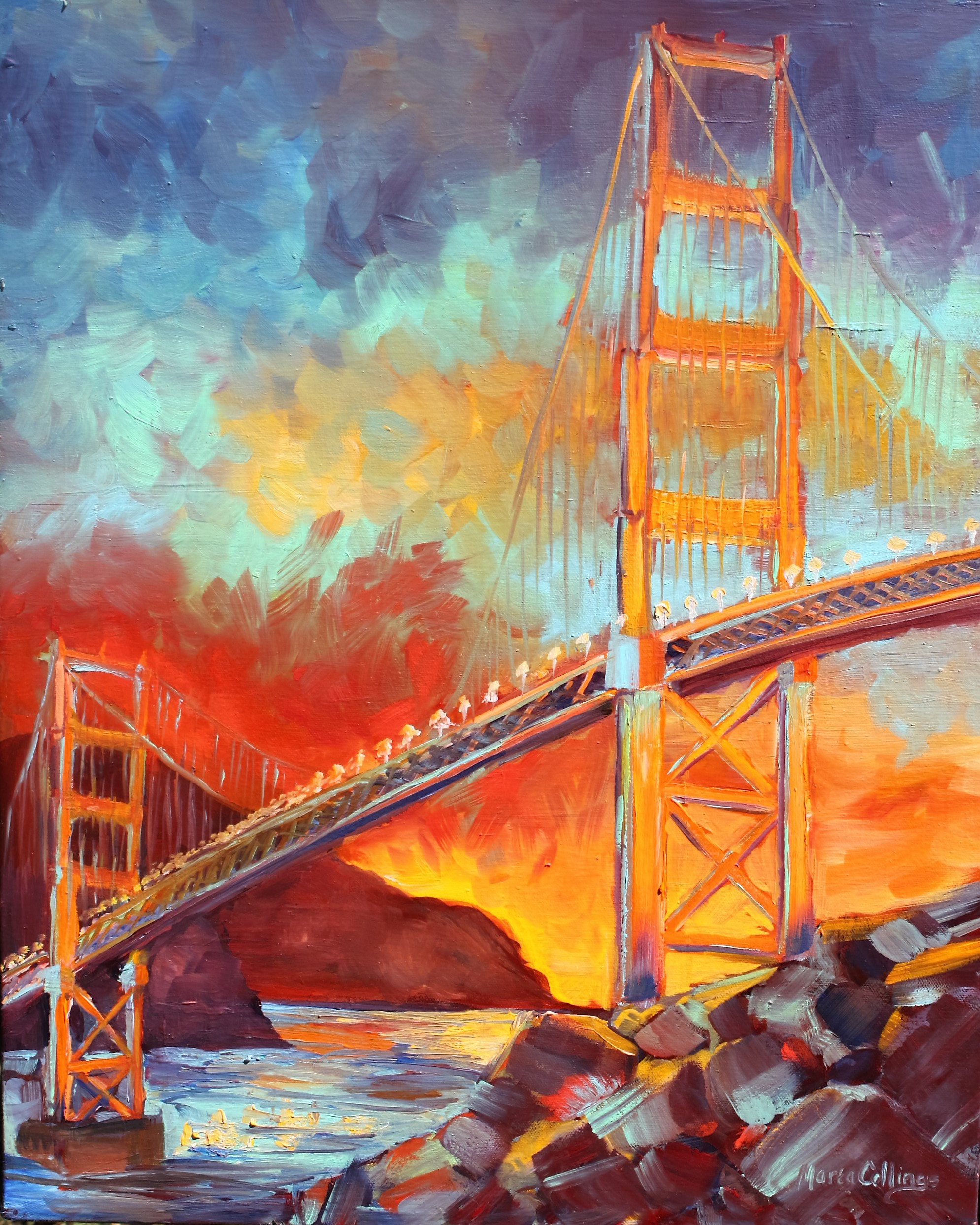 Golden Gate Twilight