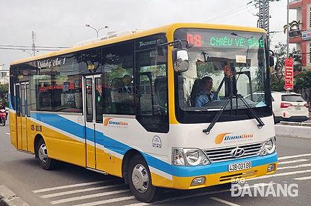 bus servce in Danang