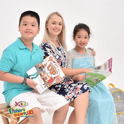 Fisher's SuperKids English Center. Apply for ESL English teaching job in Danang Vietnam.