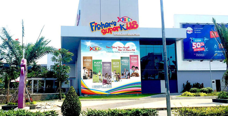 Fisher's SuperKids Englsh Center in Danang. Teaching ESL job position in Vietnam Danang.