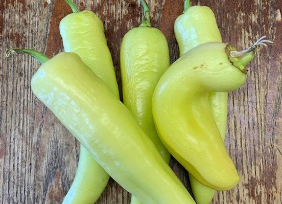 Hot Banana Peppers & Jalapeños