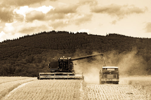 Tractor Team Work