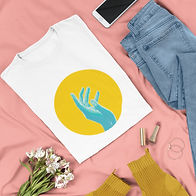 flat-lay-tee-mockup-of-a-fashionable-out