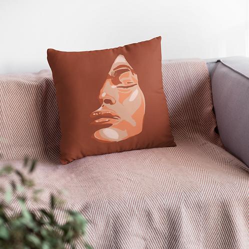 Passion Spun Polyester Square Pillow