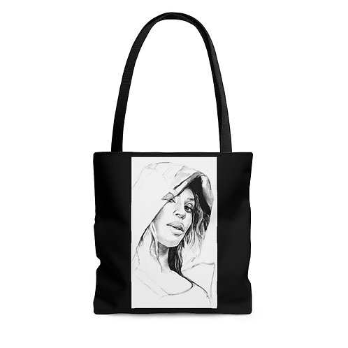 Homecoming AOP Tote Bag
