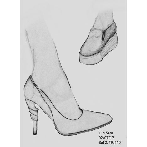 Heels and Sneakers