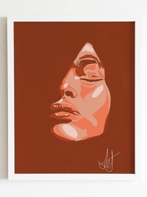 Passion Framed Print