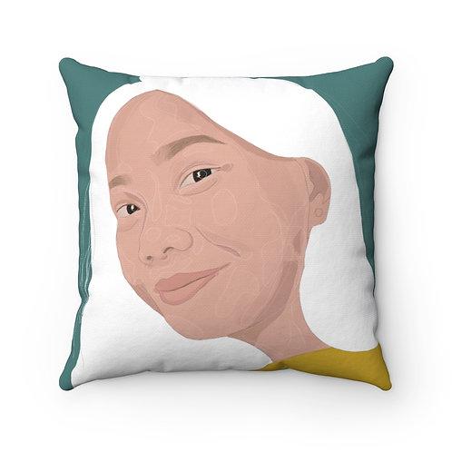 Joy Spun Polyester Square Pillow Case