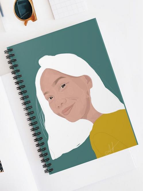 Joy Spiral Notebook - Ruled Line