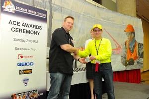 Towman ACE Award recipients