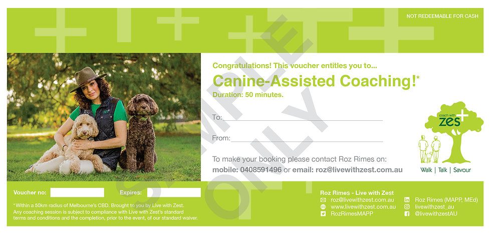 Canine-Assisted Coaching