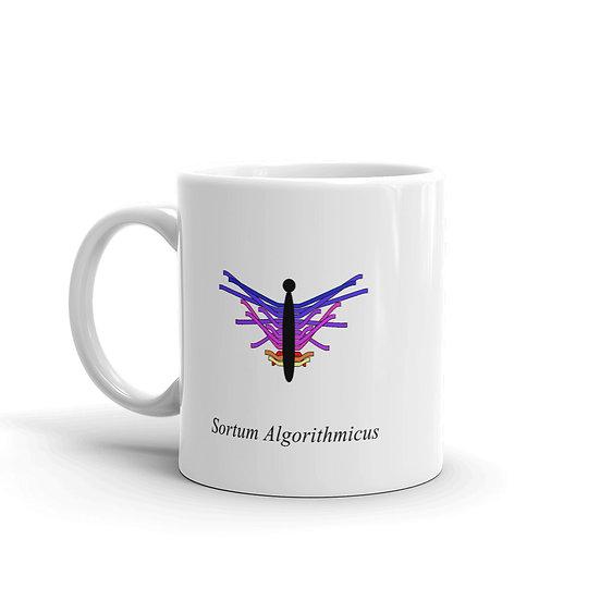 Datavizbutterfly - Sortum Algorithmicus - Mug
