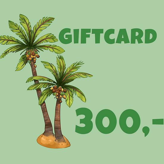 Giftcard 300 kr