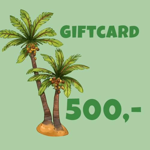 Giftcard 500 kr