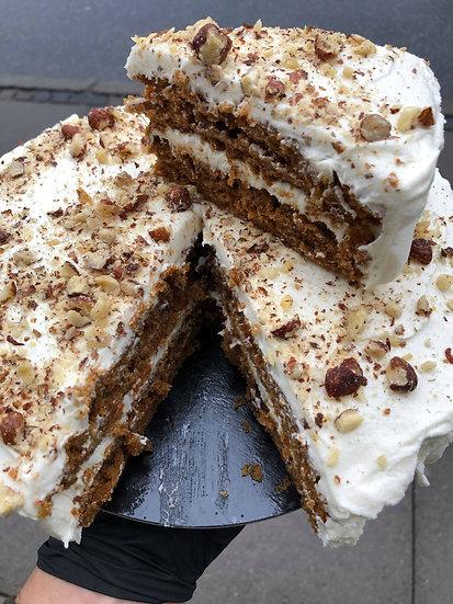 Carrot Cake (serves 10-12)