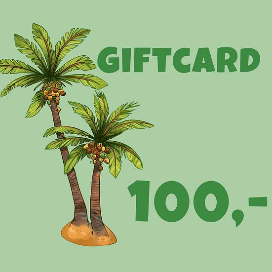 Giftcard 100 kr
