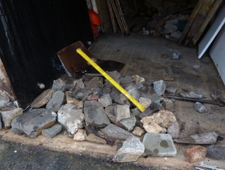 clearing properties all over south wales stone rubble and earth cowbridge garage clearance