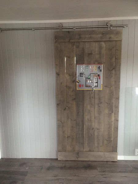 Sliding barndoor at visitwolfed.com