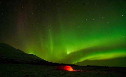 Aurora borealis visitwolfden.com