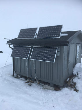 Power supply above the Arctic Circle