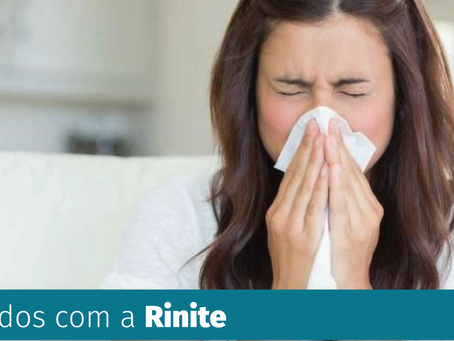 Cuidados com a Rinite