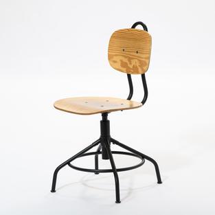 可旋轉木椅