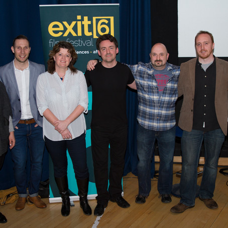 It's official: the Exit 6 Film Festival is launched!