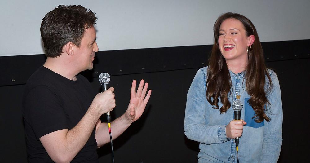 Sheridan at the Exit 6 Film Festival launch screening