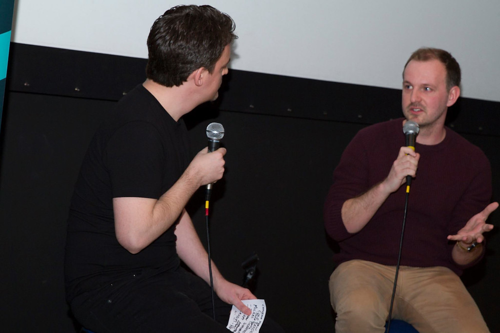 Beddoes at Exit 6 Film Festival launch