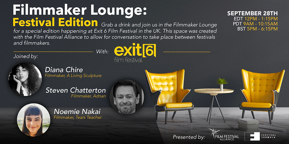 Filmmaker lounge: Festival edition