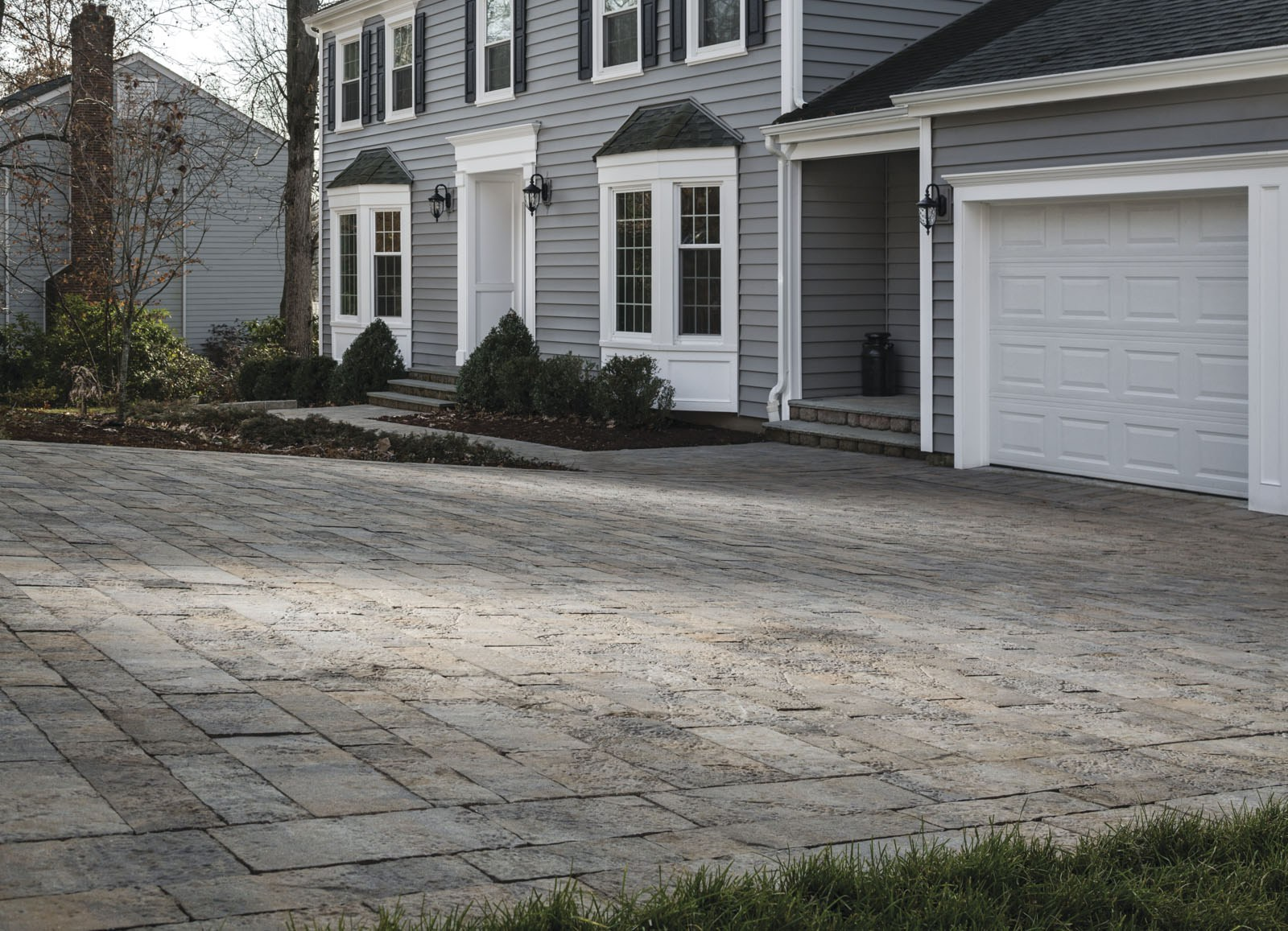 Yes, We Install Paver Driveways!