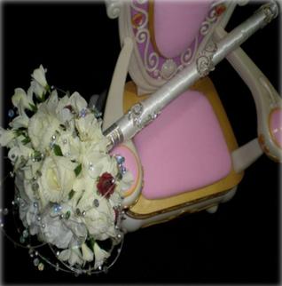Wedding Bouquet Scepter