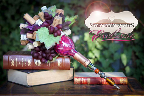 Wine Garden Theme Bouquet