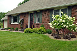 mowing and flower bed maintenance