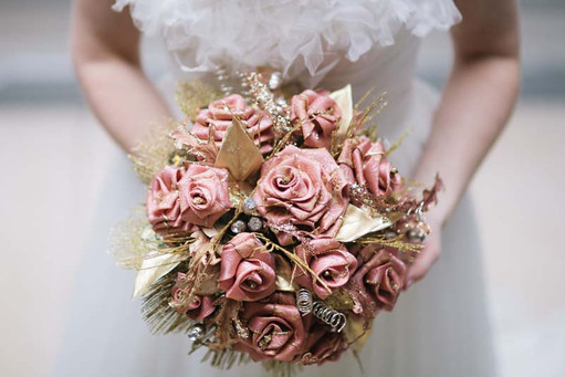 Silk Brooch Bouquet