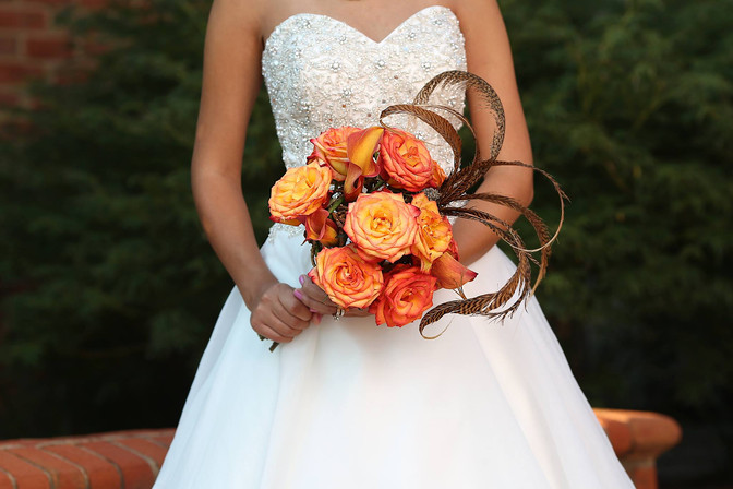 Custom Wedding Bouquet