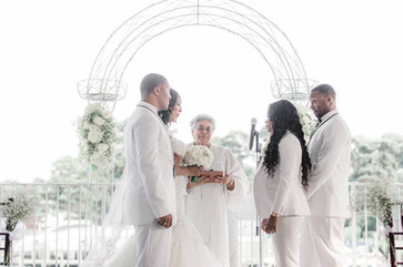 Wedding Officiant Ivory Morgan Burton