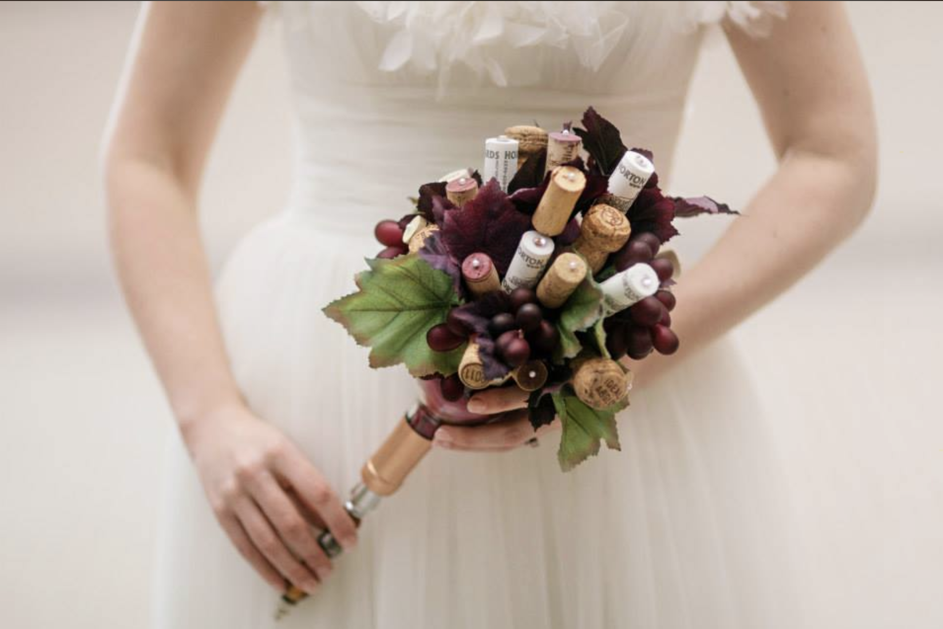 Storybook Events Wine Bottle Bouquet