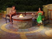 Green Collar Landscaping does Fire Pits in Virginia Beach