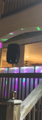 Outerbanks Outdoor Wedding DJ Setup