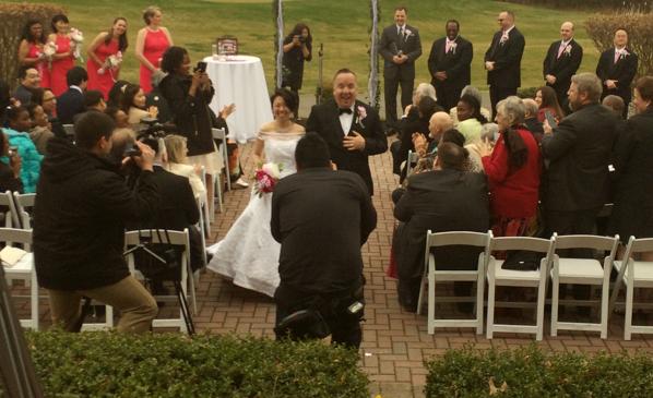 Outdoor Wedding in Northern Virginia