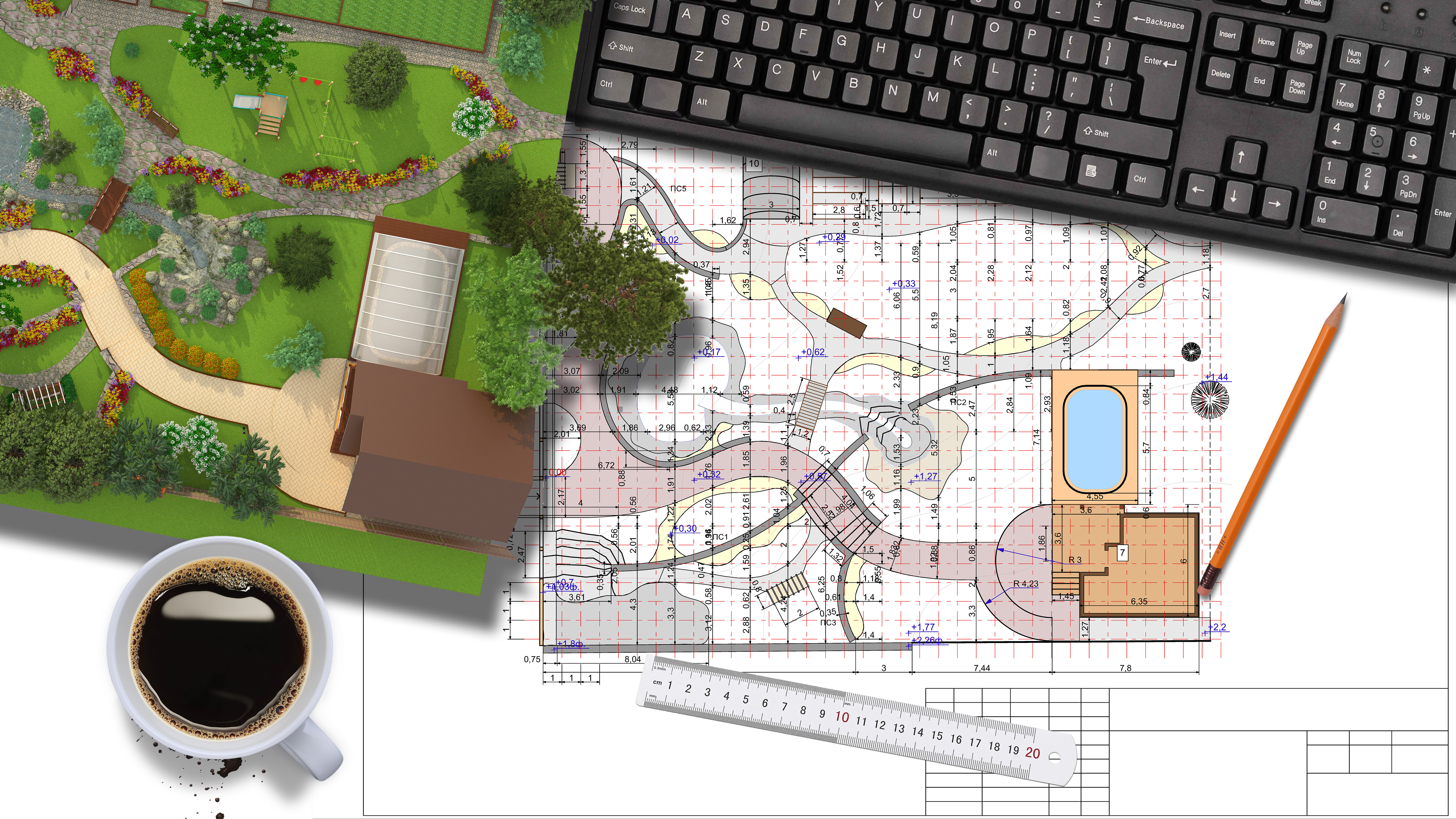 Yes! We Provide Landscape Design