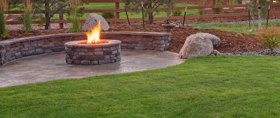 Firepits and landscaping services
