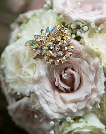 Custom Brooch Bouquet