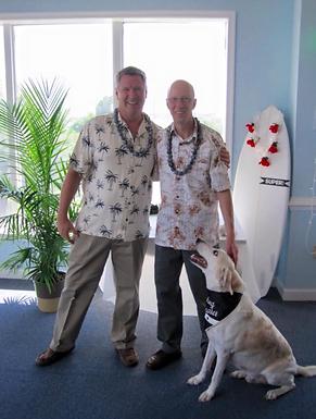 David Schmidt and Miles Cherkascky