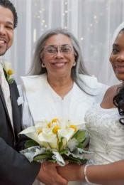 Wedding Officiant Ivory Morgan Burton